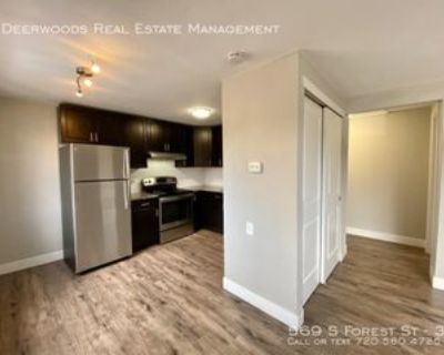 569 S Forest St #3, Denver, CO 80246 1 Bedroom Apartment