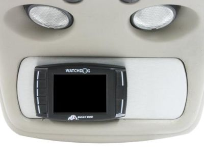 01-07 Chevy Silverado Billet Console Mount Bully Dog Gt Monitor No Switches Slvr