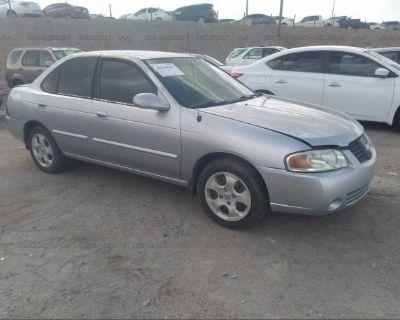 Salvage Silver 2004 Nissan Sentra
