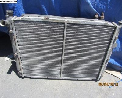 vanagon radiator and AC condenser