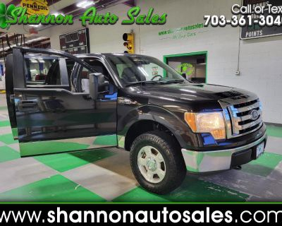 Used 2011 Ford F-150 XLT SuperCrew 5.5-ft. Bed 4WD