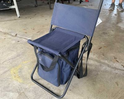 Sports Chair with Cooler