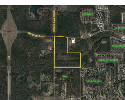Southern Loop at Wallace Lake Road - Commercial Development