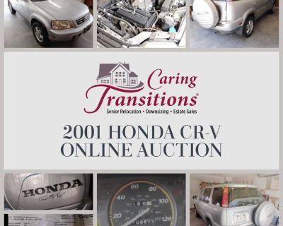 2001 HONDA CR-V ONLINE AUCTION