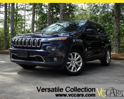 2014 Jeep Cherokee 4WD Limited Tech Navigation Leather Heated Seats C