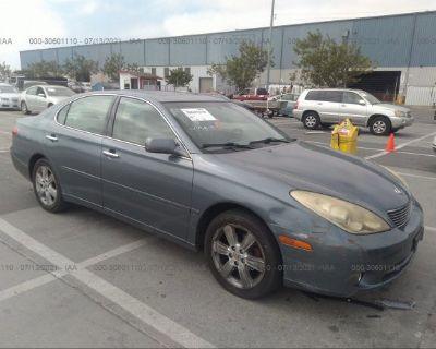 Salvage Blue 2005 Lexus Es 330