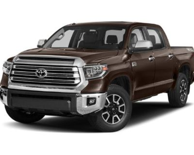 New 2021 Toyota Tundra 1794 Edition 1794 Edition CrewMax 5.5' Bed 5.7L (Natl)