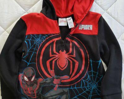 Boys Spiderman Sweatshirt - New