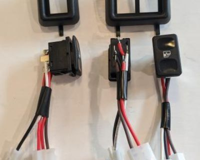 Vanagon Power Window Switches and Bezels