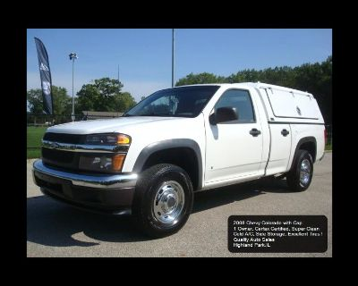 Used 2008 Chevrolet Colorado Work Truck 2WD