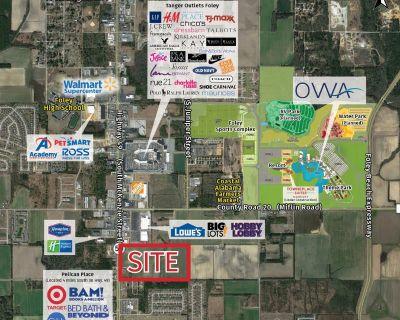 Retail Lease Space, Foley, Alabama