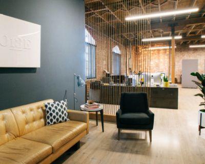 Potrero Brick and Timber open office space, San Francisco, CA