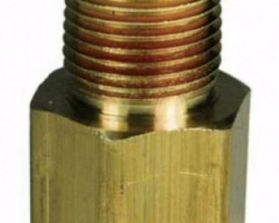 Brass Pipe 3/8 Male Nptf X 3/8 Female Nptf Threaded Adapter Reducer