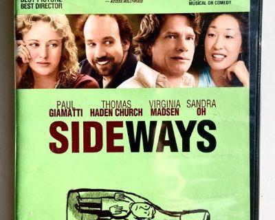 Sideways Dvd (2004)  Paul Giamatti, Thomas Haden Church ( Mail It? Paypal it! Click Link Below)