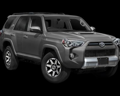 New 2022 Toyota 4Runner TRD Off Road 4WD SUV