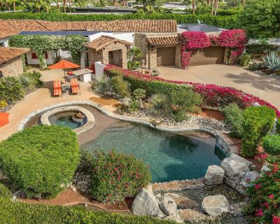 Designer Barclay Butera`s Gated Spanish Estate in Movie Colony East - Palm Springs