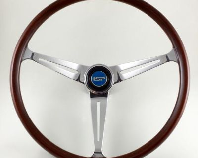 Flat-4 GT Wood Grip Steering Wheel Complete