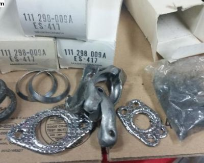 New muffler install kits 111 298 009