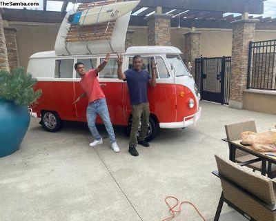 VW Bus Replica Mobile Food Truck/ Restaurant