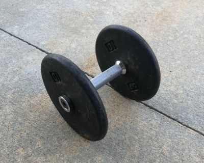 20 pounds of weights