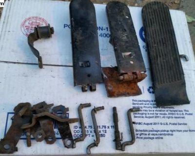Gas pedal parts
