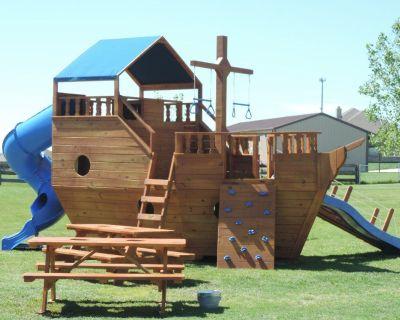 Giant Ship Swingset