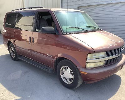 2000 CHEVROLET ASTRO Passenger Vans Truck