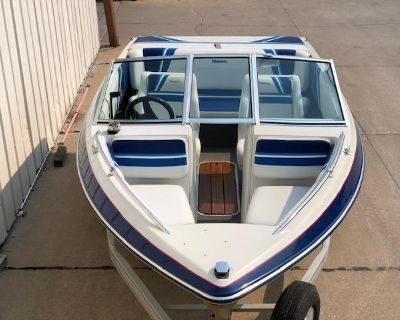 1991 Forester 16.5' OPEN BOW RUNABOUT