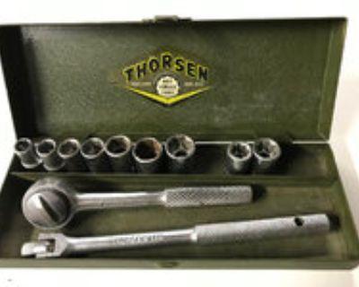 """Thorsen 1/4"""" Drive Ratchet/Socket Set"""
