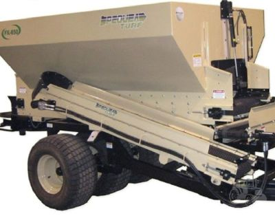 FX650 Golf Course Multi-Use-Topdresser- Material Handler, Fill Bunkers, Row Mulcher