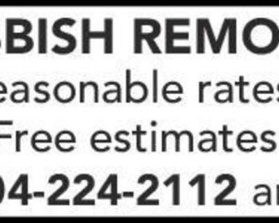 Reasonable rates Free estimates