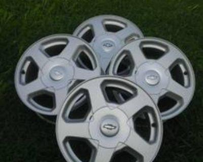 Chevy Wheels/Rims 16 Inch Stock Excellent Condition SIX (6) LUG /Dust Free/ Clean /(6 LUG )(SIX LUG)