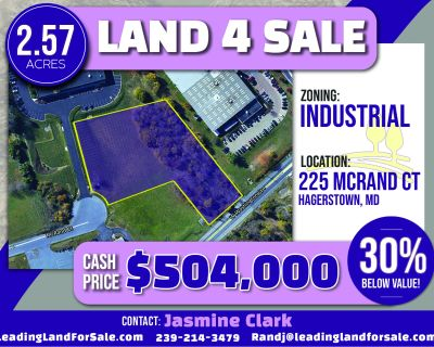 2.57 Acres for Sale in Hagerstown, MD