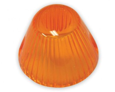 New Type 3 Amber Bullet Front Turn Signal Lens