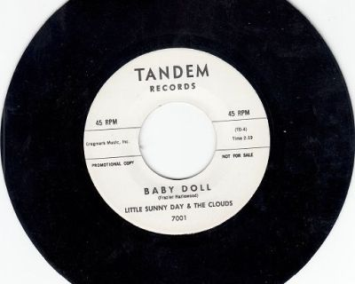 LITTLE SUNNY DAY AND THE CLOUDS ~ Baby Doll*Mint-45 !