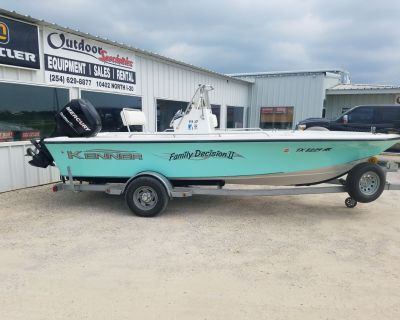 2007 Kenner Vision 1902 Saltwater Fishing Boats Eastland, TX