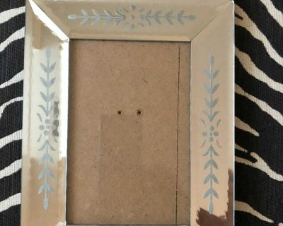 Mirrored Art Deco Style Frame