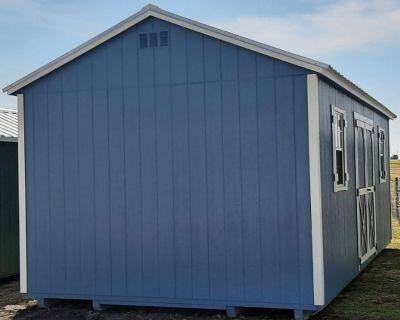 12x24 elite garden shed storage building