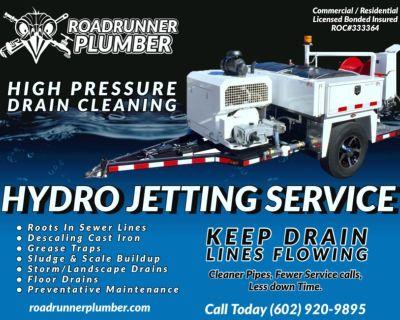* Hydro Jetting Service * Phoenix * Surprise AZ