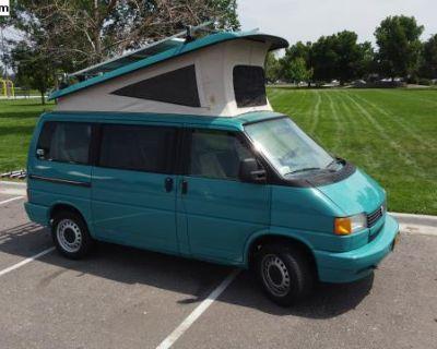 1993 Eurovan Weekender Manual Carribean Blue