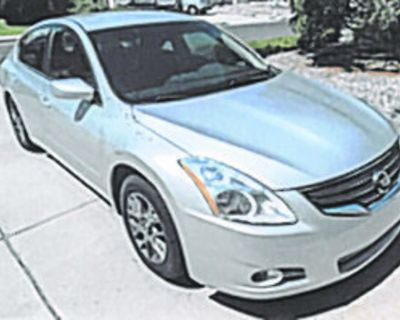 NISSAN 2012 Altima 2.5 S, 99.9K miles, overall good condition. Great Wheels! $6,950....