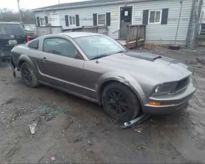 Salvage Gray 2005 Ford Mustang