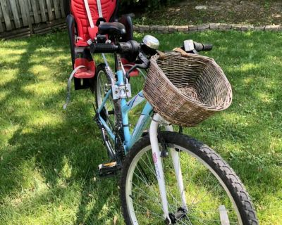 Bicycle and baby seat