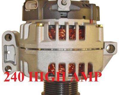 High Amp Alternator 2009-2007 Chevrolet Colorado Gmc Canyon 2.9l 3.7l Hummer H3