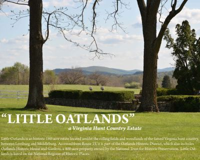 Historic 180 Acre Estate In The Hunt Country Of Loudoun County, Virginia - Loudoun County