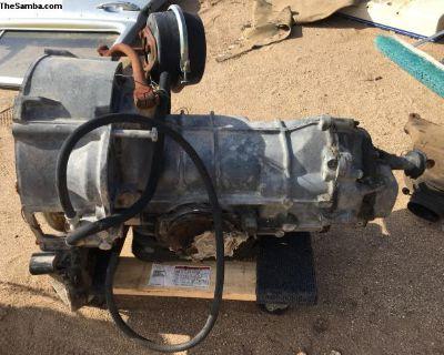 Auto stick transmission