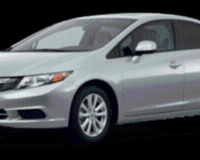 2012 Honda Civic CNG Sedan Automatic