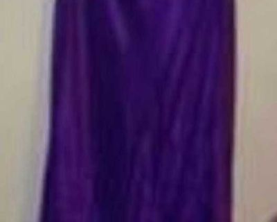 SZ 14 FORMAL DRESS (PLUM)