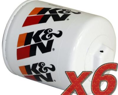 6 Pack: Oil Filter K&n Hp-1002 (6) For Auto/truck Applications