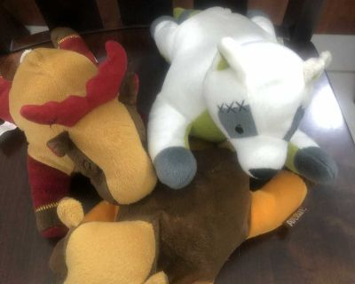 ANIMAL PLANET STUFFED DOG TOYS ( see Description) 3 FOR $2.00